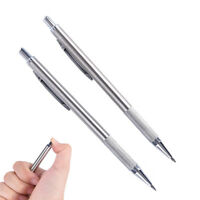 1pc Silver 2.0mmMechanical Pencil Automatic Pen Pencil School Office SuppliesPDH