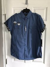 NWT Paper Denim & Cloth Button Down Short Sleeve Shirt - Medium