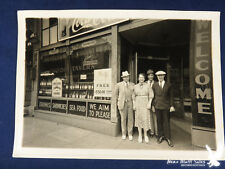 Antique Photo Taylor Tavern Schlitz Coca Cola T & M Sweepstakes WE AIM TO PLEASE
