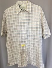Ralph Lauren Polo Jeans Company Size XL Mens Short Sleeve Button Front Shirt