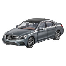 MERCEDES BENZ V 222 S Class Long Version Facelift 2017 AMG Line Gray 1 18