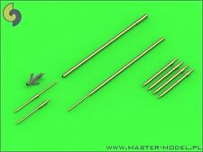 Master 48120 1/48 Metal Sukhoi Su-9/11 Fishpot Pitot Tubes & Missile rail heads