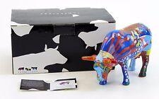 "Cow Parade A Kids Dream Figurine 47368 2008 Picado & Enciso NIB Medium 6"" x 4"""