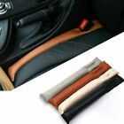 2x Car Seat Gap Filler Pu Leather Auto Parts Accessories For Universal