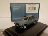 Model Car, Ford Escort xr3i, Blue,  1/76 New