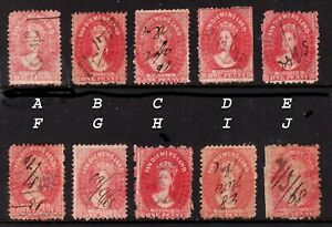 Tasmania 1d Red Queen Victoria 1864 Chalon Head. Choose from 10   • FREE POST* •