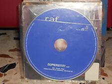 RAF - SUPERSTITI - cd singolo promozionale 2004