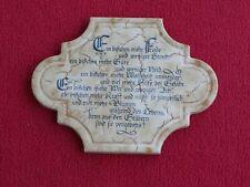 Kachel Schmuckkachel Wandkachel Kachel Fliese mit schönem Spruch Vintage 20x15 c