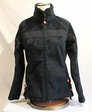 Dale of Norway Windstopper Weatherproof Black Fleece Women's Medium Jacket Zip