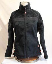 Dale of Norway Windstopper Weatherproof Black Fleece Women's Medium Jacket Zip