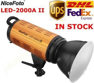 Nicefoto LED-2000A II 200W 3200-6500K Studio Photo Video Light APP Control Light