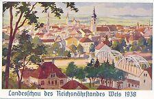 Nr.8100  PK WEls  landesschau des Reichsnährstandes  1938   O.Ö.