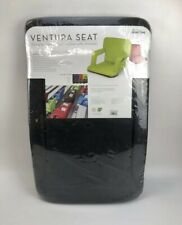 Ventura Portable Recreational Recliner With Armrests Seat - Black