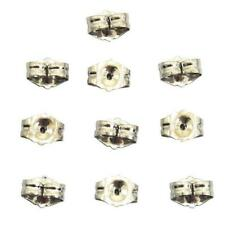 14k White Gold Earring Backs Clutch 5mm Kit 10 Pcs