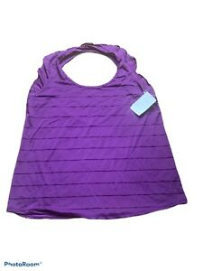 c9 champion womens active wear purple shirt size large nwt