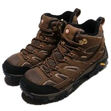 Merrell Moab 2 Mid GTX II Gore-Tex Vibram Brown Black Men Outdoors Shoes J06063