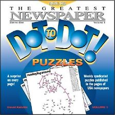 The Greatest Newspaper Dot-To-Dot Puzzles, Vol. 1 by Kalvitis, David -Paperback