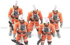5pcs STAR WARS Legacy tlc LUKE SKYWALKER snowspeeder pilot Movie Action Figures