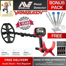 Minelab Vanquish 340 Metal Detector | Gold Detecting | Easy to use | BONUS PACK!