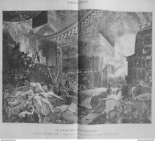 1891 INTERFACCIA UTENTE 4/7 SALON CHAMPS-ELYSÉES QUADRO FINE BABYLONE G.