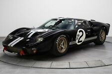 GT40 Ford 1966 GT 1 Race Shelby Sport Car 24 McLaren 18 Vintage 12 Carousel Blac
