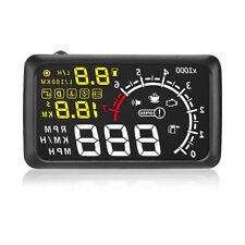 X3 ELM327 OBD2 Bluetooth Engine Speed Alarm Head Up Display Speedometer DE Stock
