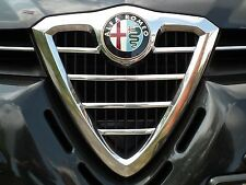Alfa Romeo 156 Saloon SW Estate 932 - CHROME Kit Front Grille Covers Trim Tuning