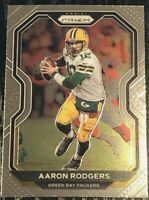 2020 Panini Prizm Aaron Rodgers BASE CARD #206💥 PACKERS MINT