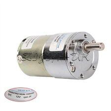 COPPIA elevata 12 V cc 30 RPM GEAR BOX REVERSIBILE MOTORE ELETTRICO SPEED CONTROL