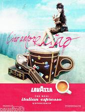 PUBLICITE ADVERTISING 076  2010  le café espresso Lavazza cio amore 2
