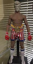"""1/6 Scale 12"""" HOT TOYS Leonidas Body/Rocky Balboa Sylvester Stallone Rocky 3"""
