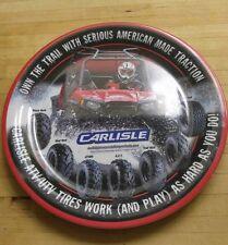 "CARLISLE Team Hawk Montoya 2013 MELAMINE DALLAS WARE DINNER PLATE  10.25"""