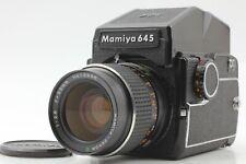 【NEAR MINT】 Mamiya M645 AE Finder w/ Sekor C 55mm f/2.8 from Japan #1531