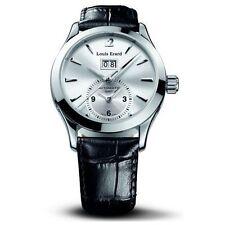 Louis Erard San Marco GMT Cream Dial SS Band Auto Men's Watch 82205AA11.BDC21