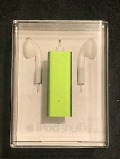 OPEN BOX Apple iPod Shuffle 3rd Generation 4GB A1271 GREEN MC307LL/A