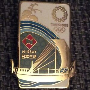 New Nissay Tokyo 2020 olympic pins