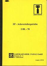 ZF  Achsverteilergetriebe 2 HL - 70  Werkstatthandbuch  Bagger Liebherr  Orginal