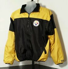 Pittsburgh Steelers NFL Reversable Winter Jacket Adult Size Medium