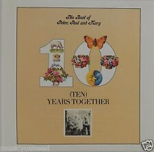 Peter, Paul and Mary - Ten Years Together The Best of (CD Warner Bros) VG++ 9/10