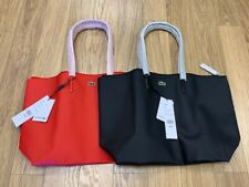NEW-WOMEN'S LACOSTE TOTE BAG, ASST COLORS, STYLE: NF1888PO  $89.95