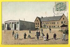cpa Ecrite en 1907 BERCK PLAGE HÔPITAL de l'OISE & des DEPARTEMENTS Bequilles