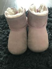 Pink Baby Ugg Boots, Size 4