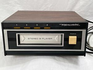 Realistic Stereo 8 Track Player Model 14-935 TR-169 TESTED