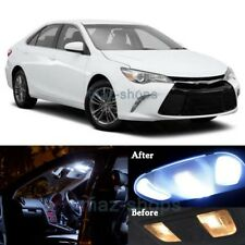 14Pcs White LED Lights Interior Package for 2015-2017 Toyota Camry w/Sunroof  MP