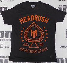 Official 2012 UFC 148 Las Vegas Fan Expo Headrush Shirt M Medium Anderson Silva