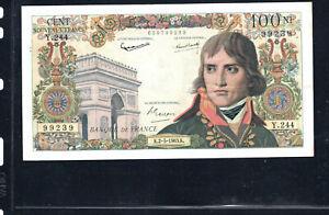 Billet 100 Nouveaux Francs Bonaparte 02/05/63 SUP Fay 59-21