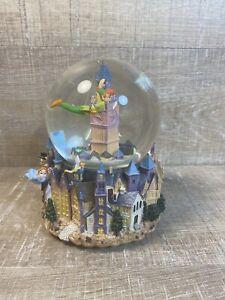 1951 Disney Hallmark Peter Pan Sound & Motion Water Globe 50 Yrs Damaged READ