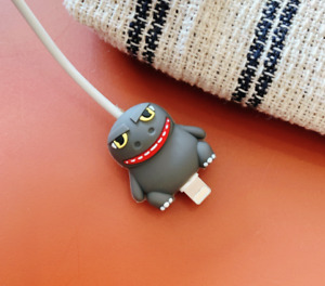 USB Cable Protector/Holder Godzilla Bite For Iphone/Android Charger Saver