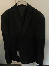 Mens Suit Jacket Size 40 Dark Charcoal Brand New With Tags