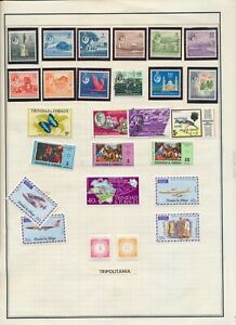 TRINIDAD AND TOBAGO: 58 STAMPS  FROM EARLIEST TO MID-CENTURY. MINT AND USED